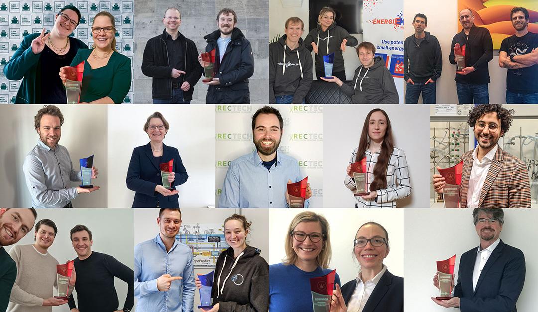 Science4Life Konzeptphase 2021, Gewinner Konzeptphase, Science4Life Konzeptprämierung
